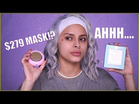 I TRY A $279 FACE MASK!?? | ISABEL BEDOYA thumbnail