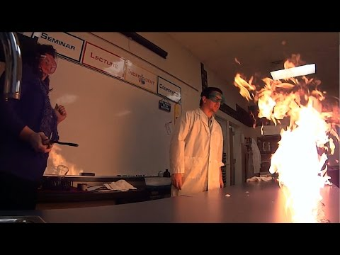 how to make flammable bubbles