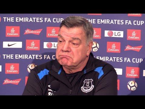 Sam Allardyce Full Pre-Match Press Conference - Liverpool v Everton - FA Cup