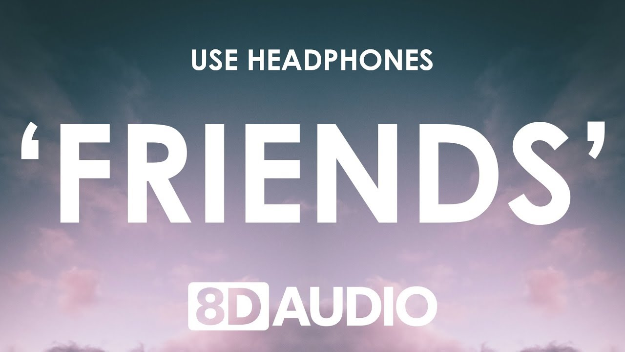 Marshmello & Anne-Marie - FRIENDS (8D AUDIO)