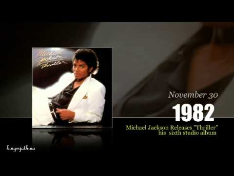 Michael Jackson Timeline From the Beginning to Thriller Era