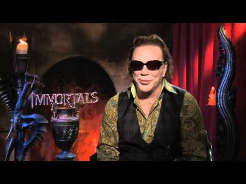 Mickey Rourke talks about Rex Grossman, Shanahan and Washington Redskins