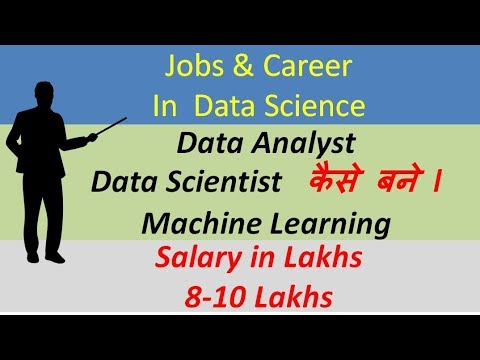 Jobs & Career opportunities in Data Science ll Data Analyst