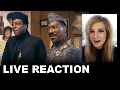 Coming 2 America Trailer REACTION