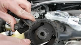 Замена верхней подушки двигателя Toyota Camry 30