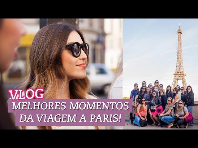 Vlog: os melhores momentos da viagem a Paris! Vídeos De Viagens