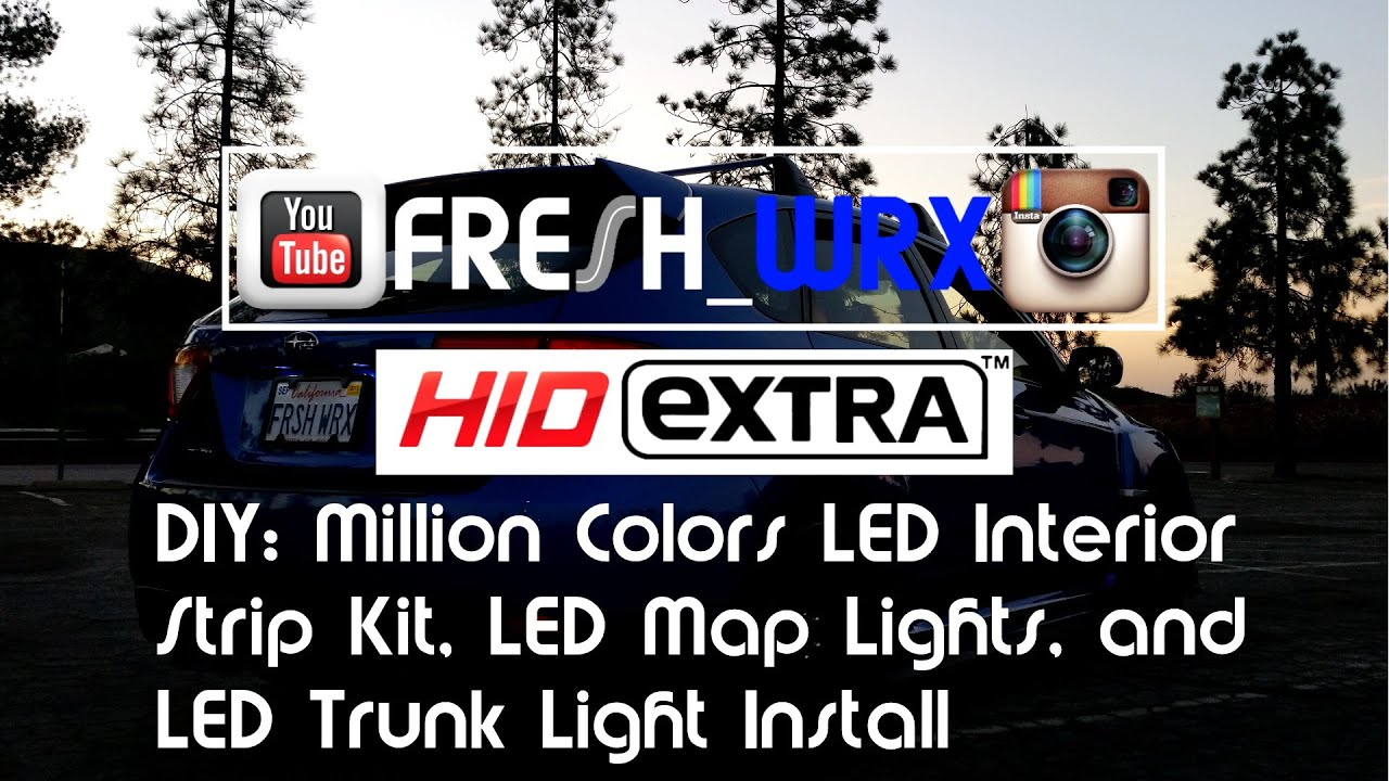 How to Install Interior RAZIR LED Lights and Strip Kits ...