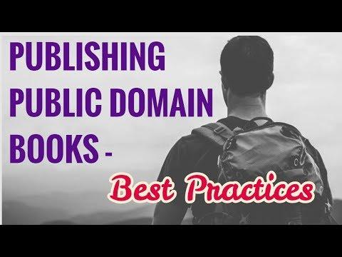 Best Practices For Publishing Public Domain Books On Kindle