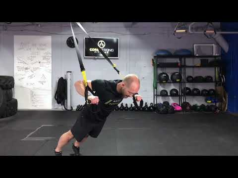 How to Perform The TRX Chest Press