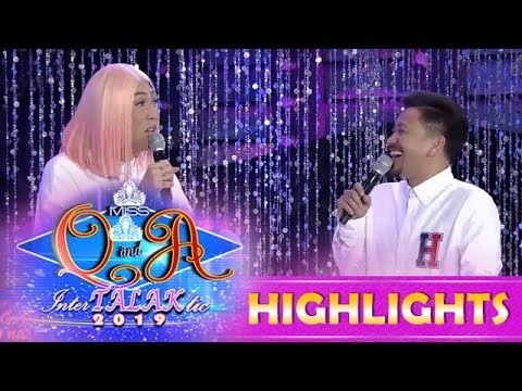 It's Showtime Miss Q and A: Jhong gets serious about what Vice said