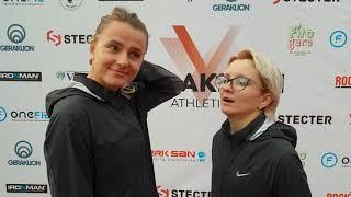 Алина Ромашова и Анна Бaюкова -победительницы в беге на 3000 м Закрытие сезона Geraklion Athletics