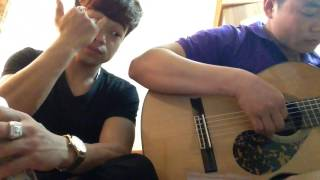 Con Đường xưa em đi guitar