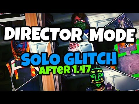 GTA 5 ONLINE – SOLO DIRECTOR MODE GLITCH   ANY MODDED OUTFITS ONLINE