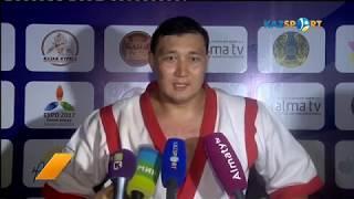 Руслан Абдразаков стал обладателем пояса «Алматы Барысы-2017»