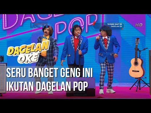 Dagelan OK - Seru Banget Komeng Ikutan Dagelan Pop [24 Januari 2019]
