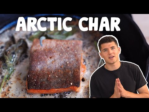 BREAKING DOWN + COOKING ARCTIC CHAR