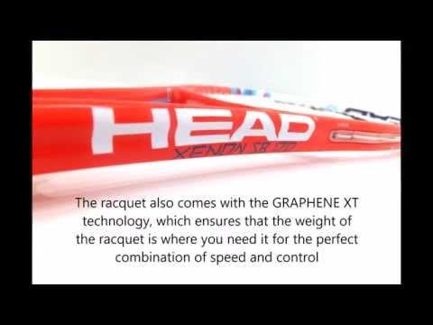 Head Graphene XT Xenon 120 Slimbody (2016) Squash Racket
