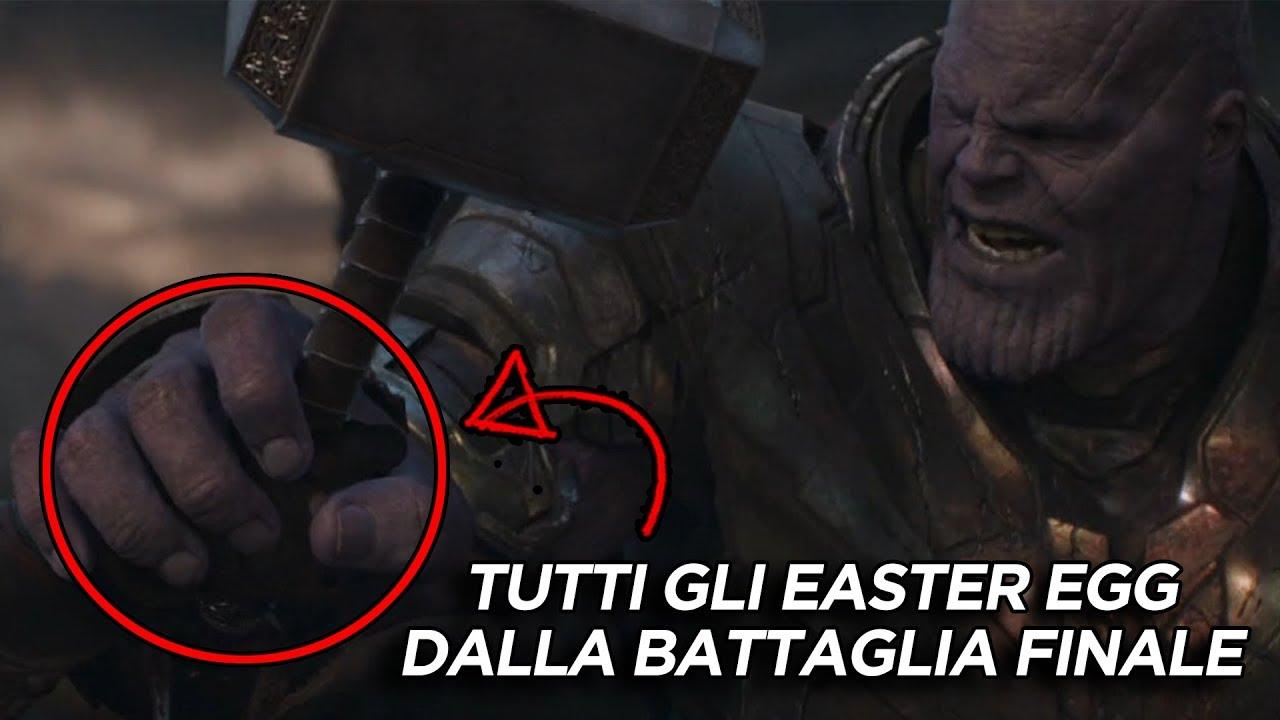 Avengers Endgame Tutti Gli Easter Egg E Le Citazioni Dalla Battaglia Finale
