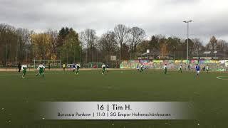 Borussia Pankow - SG Empor Hohenschönhausen