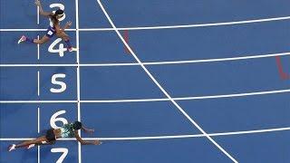قفزة خرافية لميلر تهديها ذهبية 400 متر بأولمبياد ريو