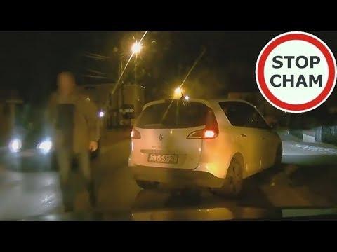 Agresja na drodze – brak świateł, zajechanie, szarpanina i policja #73 Wasze Filmy