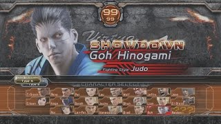 Virtua Fighter 5 : Final Showdown - Goh Playthrough (PS3)