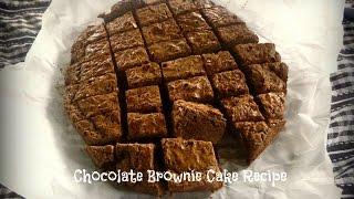 Chocolate Brownie Cake Recipe - Gluten Free   By Victoria Paikin
