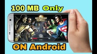 [100MB ONLY ]  Download Mortal Kombat vs DC Universe On Android