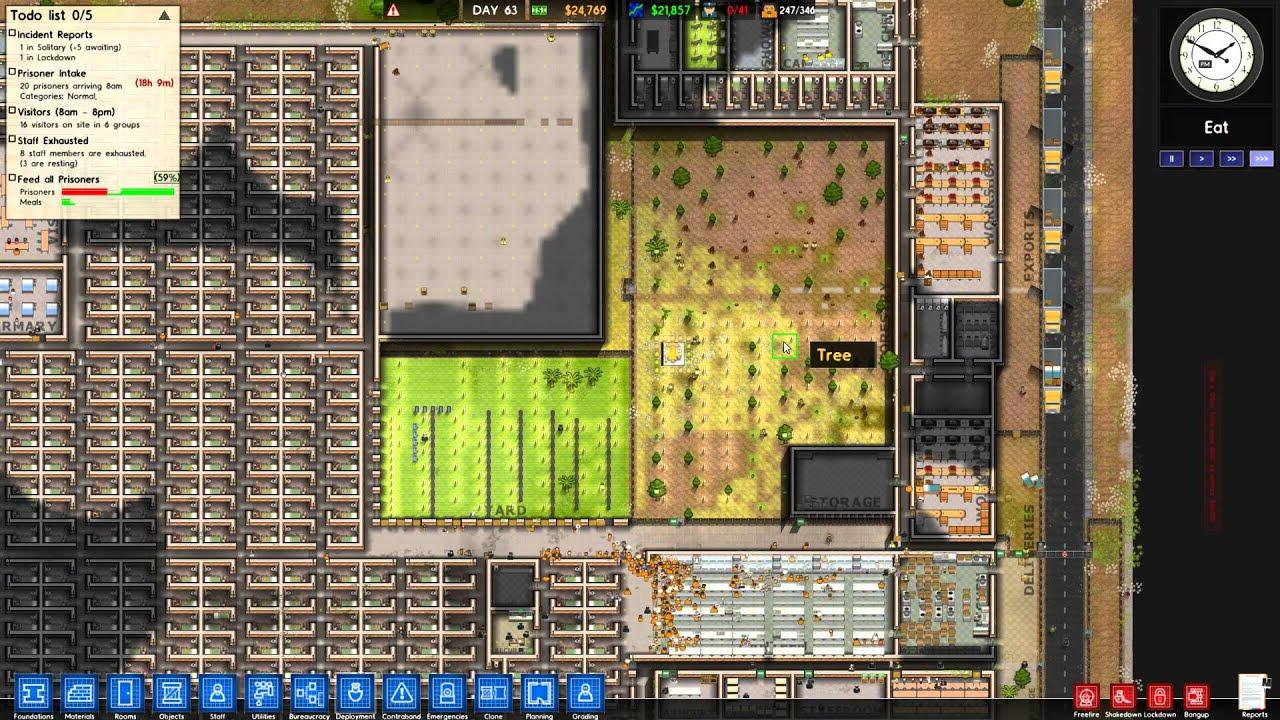 Prison Architect Alpha 25