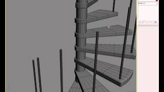 Modeling A Spiral Staircase In 3ds Max