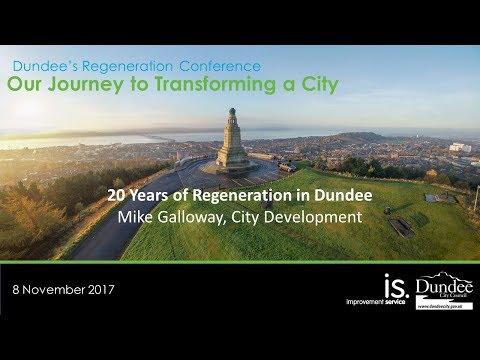 Mike Galloway Director of City Development, Dundee City Council