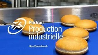 Pain production industrielle dans la Fortisa AG |pains à hamburger pour McDonalds