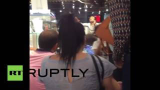 Turkey: Gunfire and explosions rock Istanbul