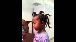4yr old shows how family members snore