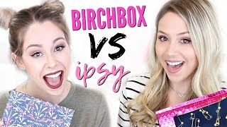unboxing birchbox vs ipsy   november