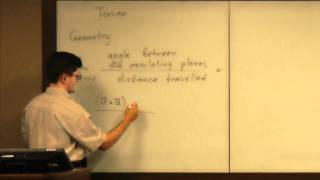Lecture 2011.07.12 Part 01/10 Comparison of Geometric and Physics Approaches to the Torsion