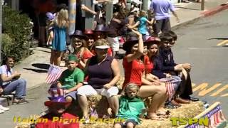 TSPN TV  Italian Picnic Parade in Sutter Creek CA. 2012.mp4