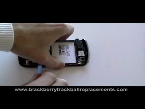 Blackberry Curve 8900 Keypad & Trackball Replacement Repair Guide
