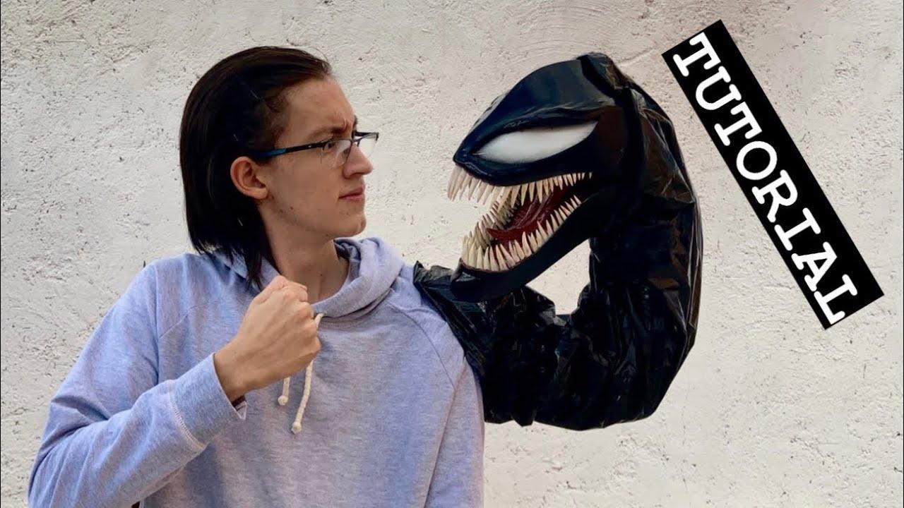 Cosplay de Venom | marioneta casera de simbionte | Tutorial