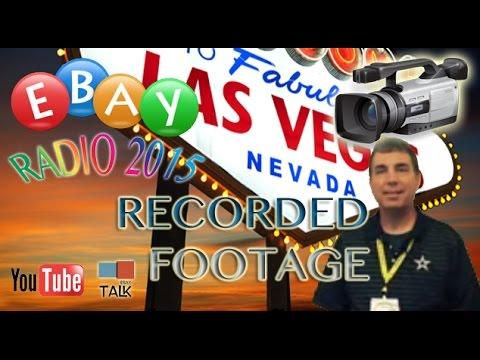 Las Vegas and eBay Radio Party 2015 footage.