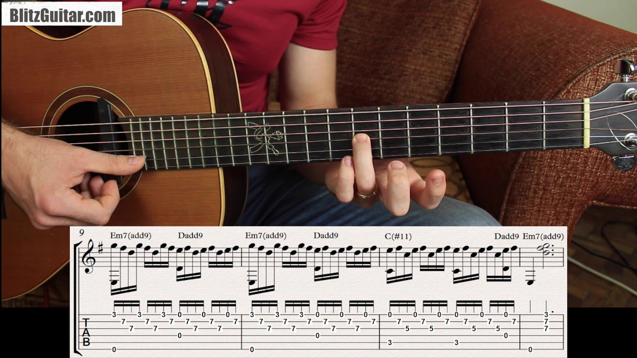 Revamp E Minor Chord By Using Awesome Fingerstyle Chords Youtube