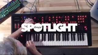Roland JD-XA Analog Digital Synthesizer - website sounds & sequences
