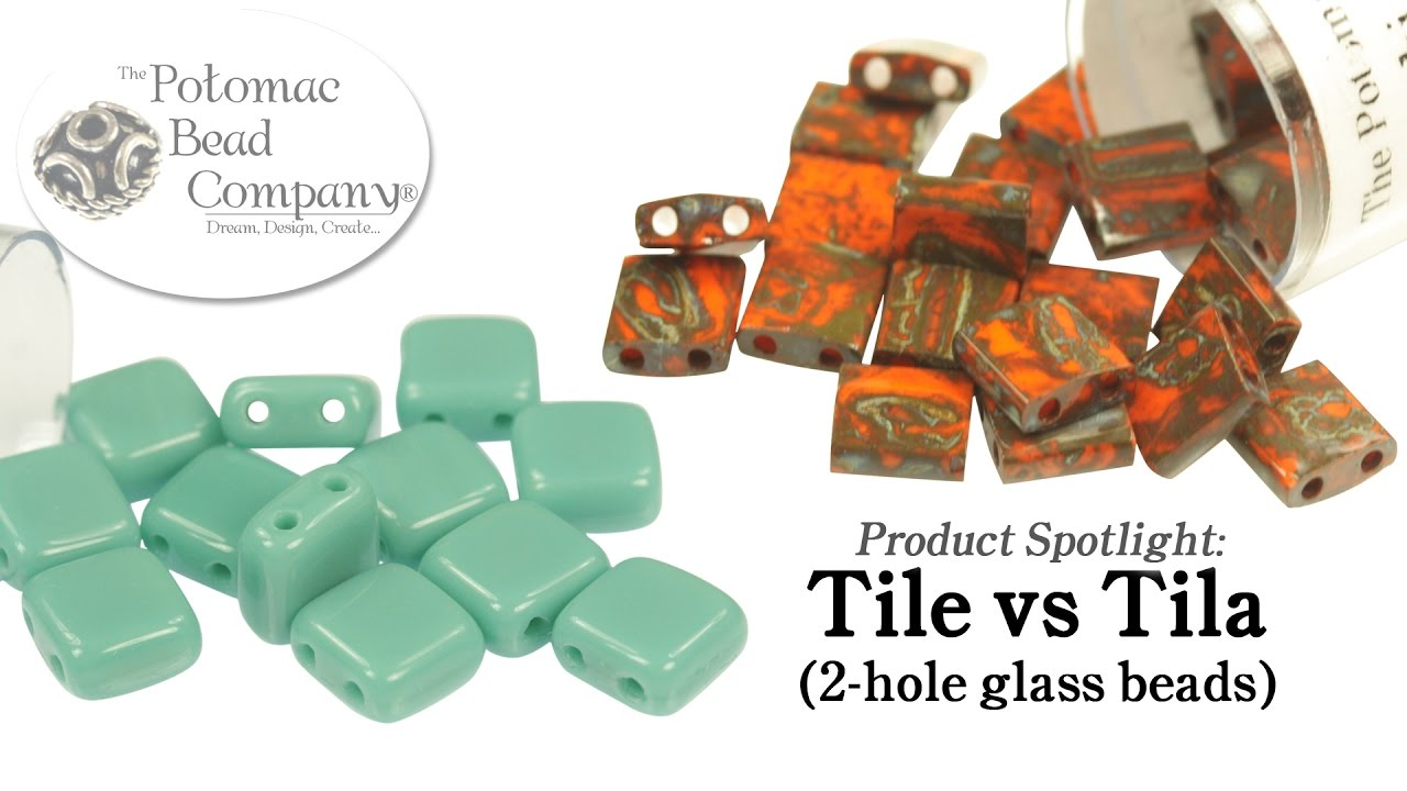 comparison tile vs tila beads