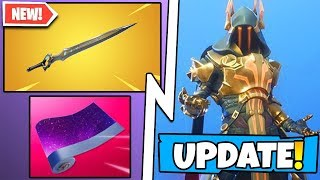 *NEW* Fortnite Update! All Patch v.701 Notes, Infinity Blade Melee Weapon, & Every Secret Change!