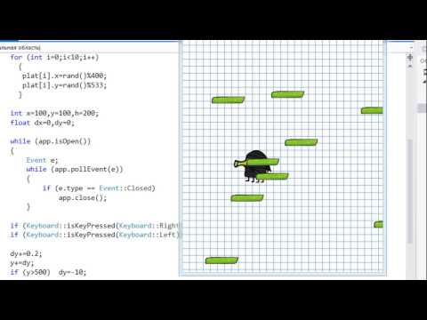 Let's make 16 games in C++: Doodle Jump