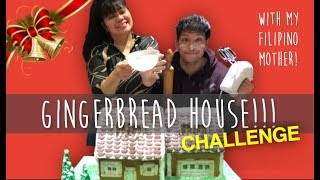 GINGERBREAD HOUSE CHALLENGE!!!