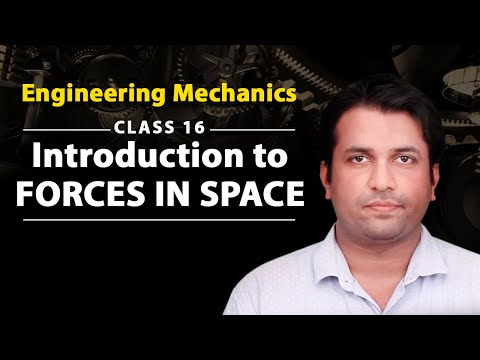 Introduction to Forces in Space - Forces in Space - Engineering Mechanics