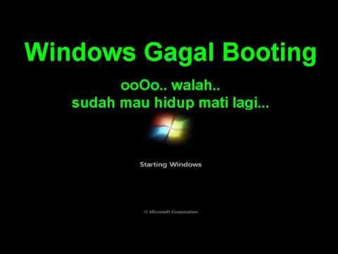Cara Mengatasi Windows 7 Gagal Booting