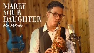Marry Your Daughter (Brian McKnight) - curved soprano saxophone cover by Desmond Amos