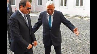زيارة السيسي للبرتغال - رئيس وزراء البرتغال يستقبل الرئيس السيسي ويقيم مأدبة غداء تكريما لسيادتة